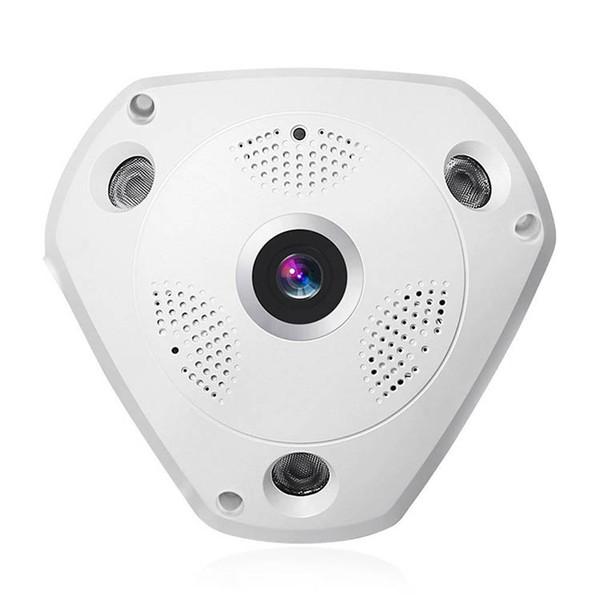 360 ° Panorama Wireless IP Kamera Audio Video WiFi 3 Megapixel HD Fischaugenobjektiv Weitwinkel Nachtsicht VR CCTV Home Security System