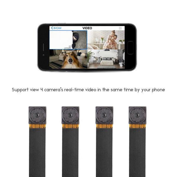 Mini Super Small Portable Hidden Spy Camera P2p Wireless Wifi Digital Video  Recorder For Ios Iphone Android Phone App Remote View Covert Surveillance
