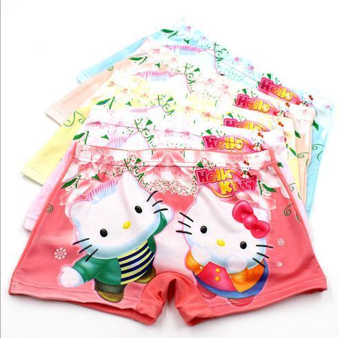 top popular hello kitty kids baby Panties Boxers hello kitty Underwear grils cartoon 3D Panties 2019
