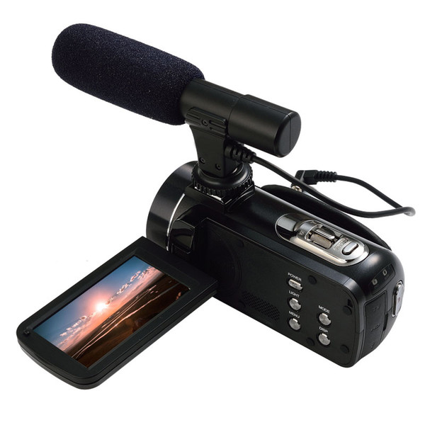ORDRO HDV-Z20 WIFI 1080 P Full HD Dijital Video Kamera Kamera 24MP 16X Yakınlaştırma Recoding 3.0