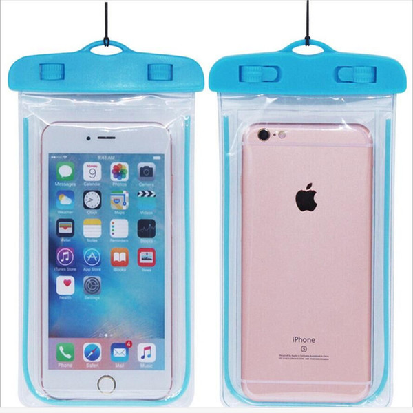 waterproof phone case blue