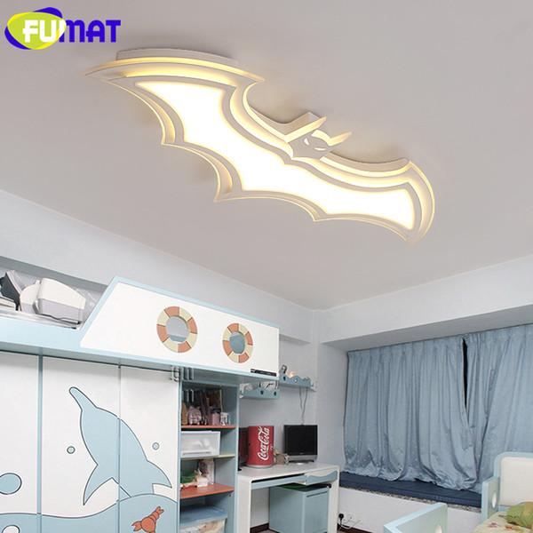 Großhandel Fumat White Batman Deckenleuchte Led Cartoon Kinderzimmer Deckenleuchte Moderne Acryl Led Deckenleuchte Für Wohnzimmer Von Lightintheroom