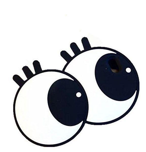 Accesorios Movil Lindo Diseño De Ojos Grandes De Dibujos Animados 3d Cubierta De Silicona Suave Para Apple Iphone 6 Plus 6s Plus 55 Fundas Para