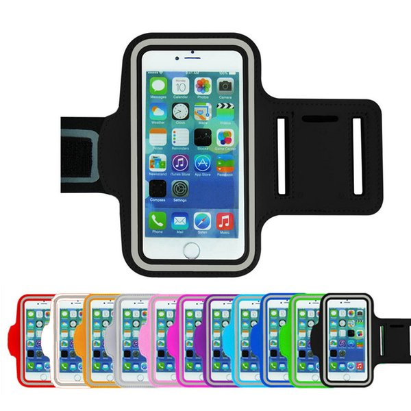 """Wholesale-New for LG G3 Armband High quality Neoprene Gym Jogging Running Sport Bag Arm band Cell Phone Workout Accessory Cover 5.5"""""""