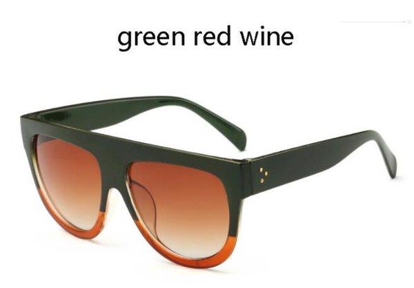 Yeşil şarap kırmızı