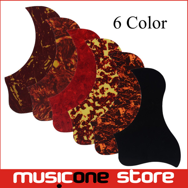 best selling Multi Color Acoustic Guitar Pickguard Pick Guard Sticker Comma Style Available MU1318