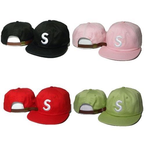 Fashion Letter S Snapbacks Caps Hats Adjustable Super New Strapback Baseball Sports Cap Hip Hop Snap back Hat High Quality Sale