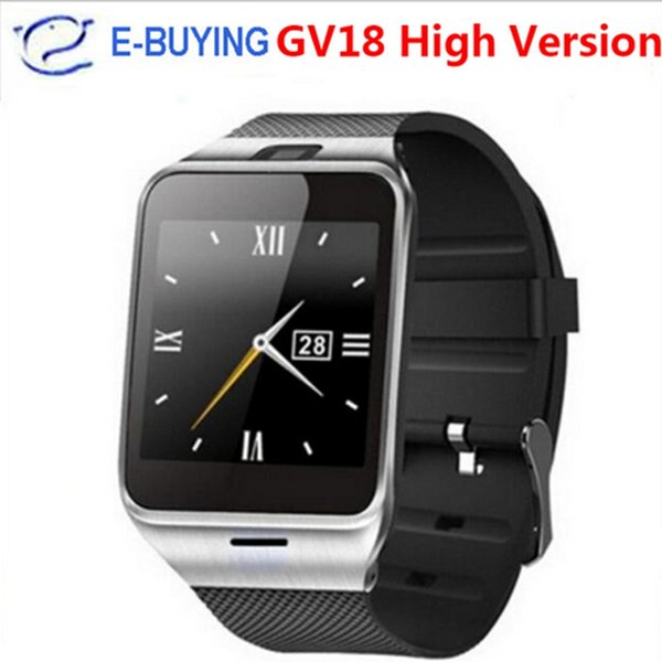 2017 Aplus GV18 Smart Watch bluetooth with Camera Android watch Phone support SIM card Smartwatch for smartphone PK DZ09 GV08