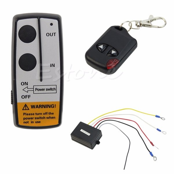 Wholesale-Hot 24V 50ft Winch Wireless Remote Control Set for Truck Jeep ATV Warn Ramsey