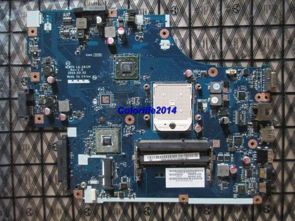 for Acer 5551 5551G LA-5912P MB.BL002.001 (MBBL002001) DDR3 laptop motherboard fully tested & working perfect