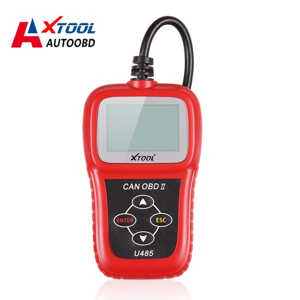 Top Quality Newest Can Bus Obd2 Code Reader U485 EOBD2 OBDII CAN-BUS Scanner Read & Clear DTCs Support Multi-brand Cars U485 CODE SCANNER