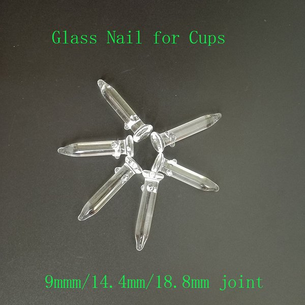 Glass concentrate Nail Adapter 9mm 14.5mm 18.8mm joint for Glass bongs Water Smoking pipes oil rigs
