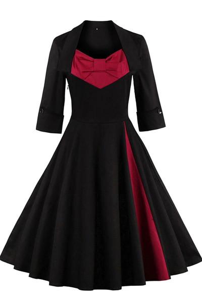 Vintage negro de la mujer Ruffles Drapeado Denim Zip Trench Coat Outwear Chaqueta larga abrigo más tamaño trabajo vestidos de invierno FS0493