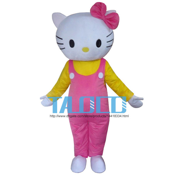best selling 2016 Hello Kitty Cute Fancy Dress Mascot Costume Cartoon Character Adult