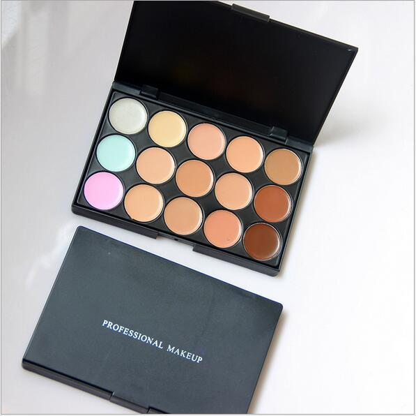 15 Colors Concealer Profession make up Face Cream Maquiagens Skin Concealer Palette best quality DHL free