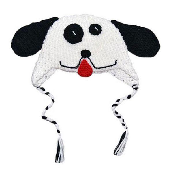Super Cool Crochet Puppy Hat,Handmade Knit Crochet Baby Boy Girl Dog Animal Hat,Kids Halloween Costume,Fun Hat,Newborn Photography Prop