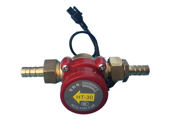 Interruptor del flujo de agua del sensor del agua HT-30 para proteger el tubo del laser del CO2 y la máquina del grabado del laser del CO2
