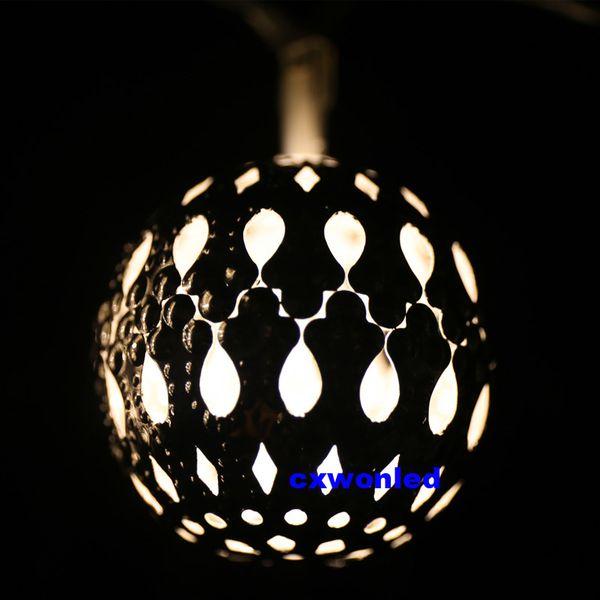 Silver ball-warm white