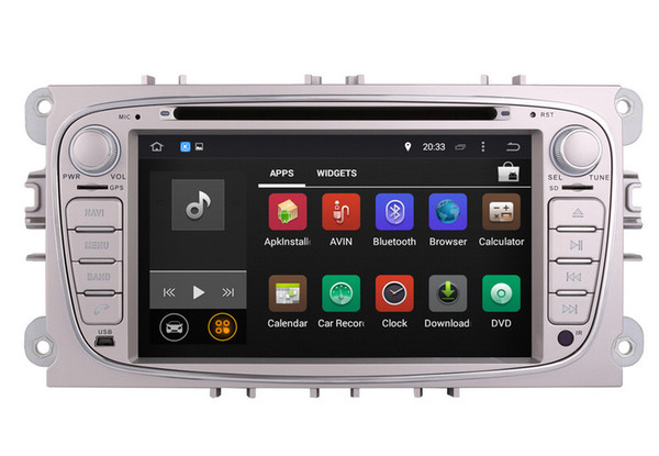 Android 8.0 Car DVD Player GPS Navigation for Ford Focus Mondeo S-Max with Radio BT USB Video Stereo WIFI 8Core 4G+32G 1024*600