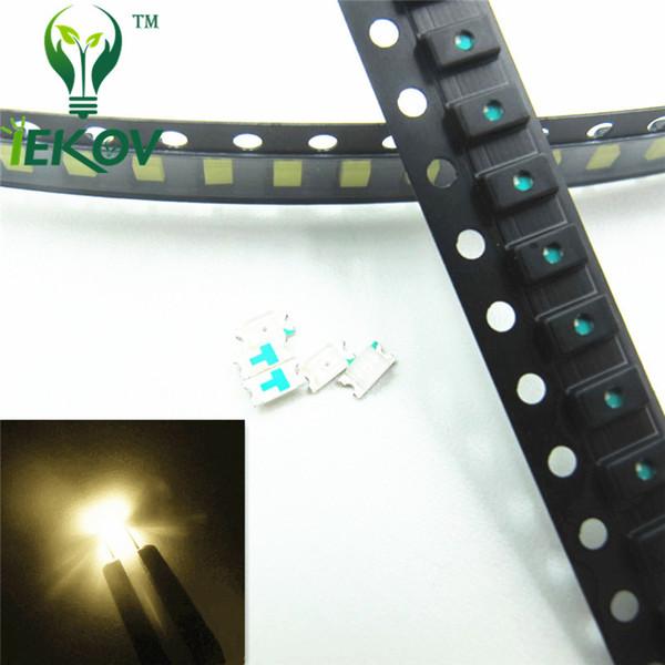 top popular 1000pcs 0603 SMD Warm White led Super Bright SMT LEDS Light Diode 2800-3500K High Quality Chip lamp beads DIY Retail 2020