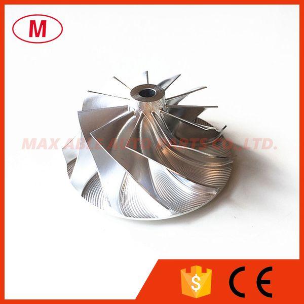 TD04HL 20T 49189-x 11+0 blades 47.04/58.00mm Turbo Billet compressor wheel/Aluminum 2024/Milling compressor wheel for Chrysler 49189-07220