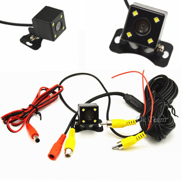 Oto Parktronic HD Araba Arka Kamera Araba Yedekleme Ters Kamera Dikiz Kamera Geniş Açı Park Kamera Gece Görüş Su Geçirmez