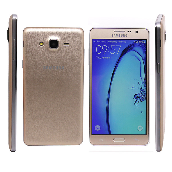 top popular 2017 Original Samsung Galaxy On7 G6000 4G LTE Dual SIM Cell Phone 5.5'' inch Android 5.1 Quad Core RAM1.5G ROM 16GB 13MP Camera Smart Phone 2020