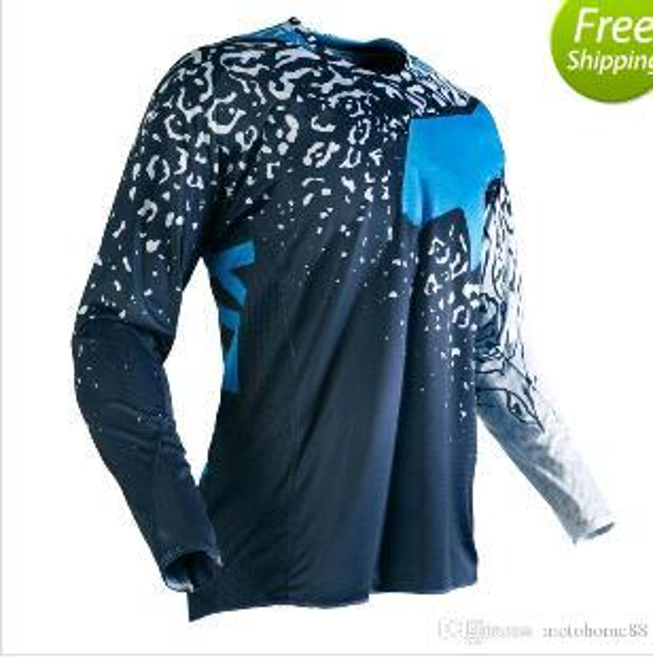 Off Road Jerseys MTB DH MXGP ATV T-shirts Motocross Jerseys Cycling Mountain Bike Racing shirt Breathable Free Shipping