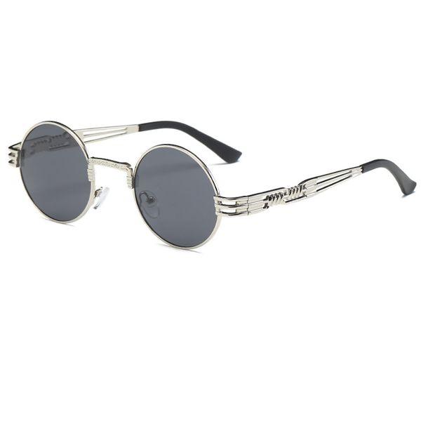 C8 Silver Frame Grey Lens