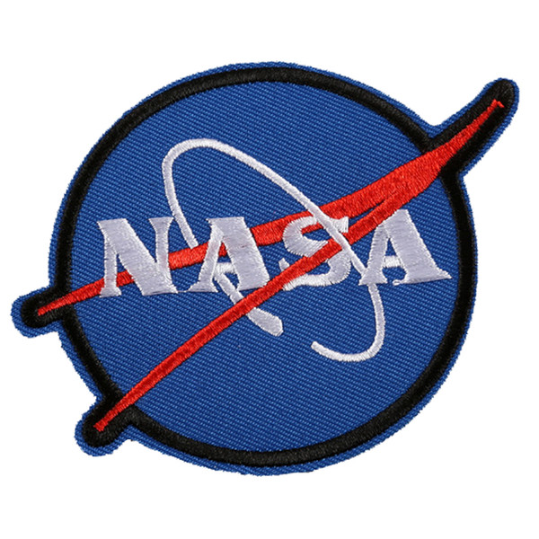 best selling Embroidered NASA Patches Ironing Sew Applique Cool Space Clothes Badge Stickers Jackets T-shirt Shoes Bags DIY Decoration Patch