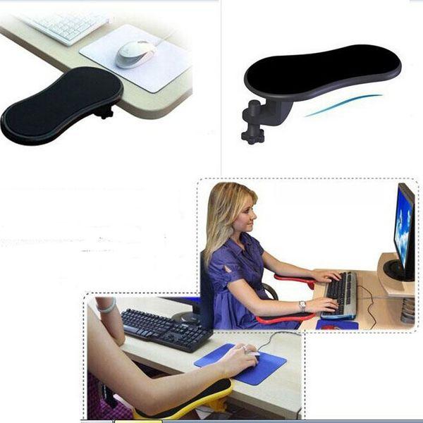 top popular Computer Arm Rest Chair Desk Armrest Mouse Pad Support Computer Arm Support Rest Chair desk Armrest Mouse Pad free shipping 2020