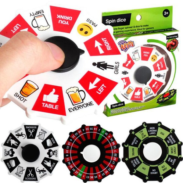 best selling Fortune Wheel Fidget Spinner Lucky Wheel Spinners Spinning Turntable Hand Spinner Anti-anxiety Stress Relief EDC Decompression Fidget Toys