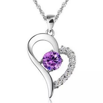 only purple pendant