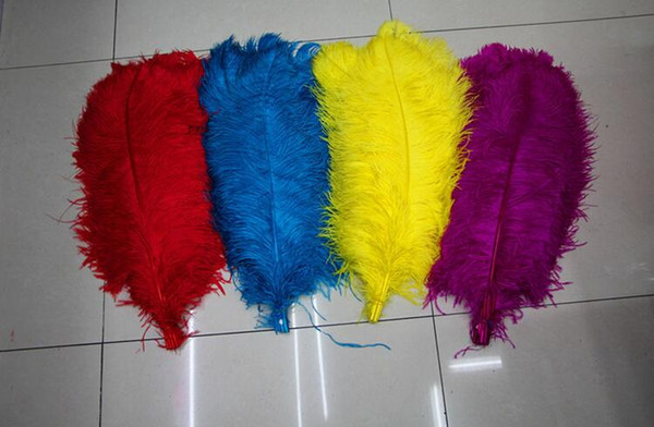 2016 color Ostrich Feathers Thin rod Plume Centerpiece for Wedding Party Table Decoration feather YM40