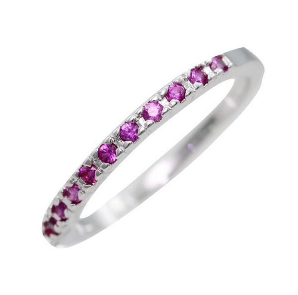 Argento all'ingrosso 925 anelli in argento sterling per le donne viola rosso simulato diamante anello di fidanzamento stella gioielli