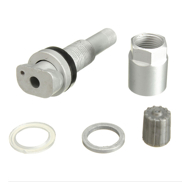 best selling NEW TPMS Pressure Sensor Wheel Valve Stem Rebuild Replacement Kit Fits JEEP DODGE LAND ROVER