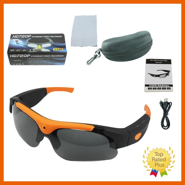 4f741be2451 720P 1080P HD SunnyCam Video Recorder Camcorder SunGlasses Action Sport  Camera Micro Sd Card With Fancy