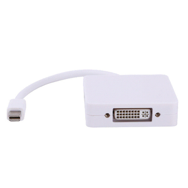 3 in1 Thunderbolt Mini DP Display port to HDMI DVI VGA Adapter Cable for MacBook Pro