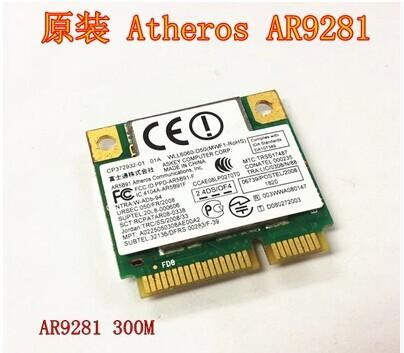 ATHEROS AR9281 NETWORK DRIVERS DOWNLOAD