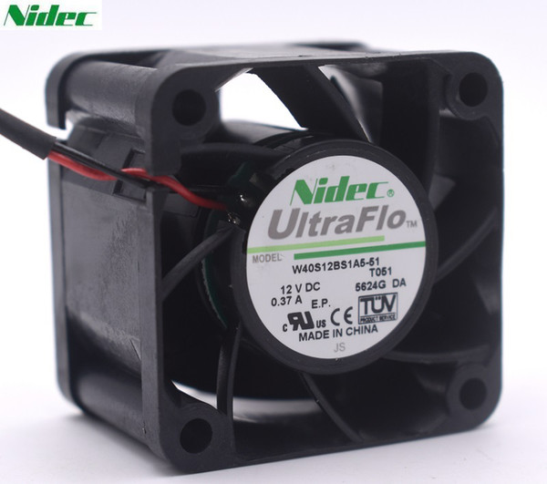 SXDOOL DFS402012H 4020 40mm 4cm DC 12V 1.6W Axial Server Cooling Fan