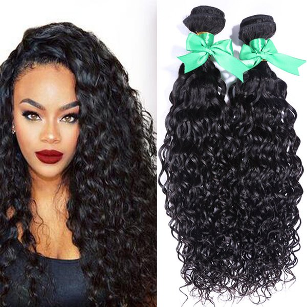 Brazilian Deep Curly Human Hair Style 2 Bundles Natural Black