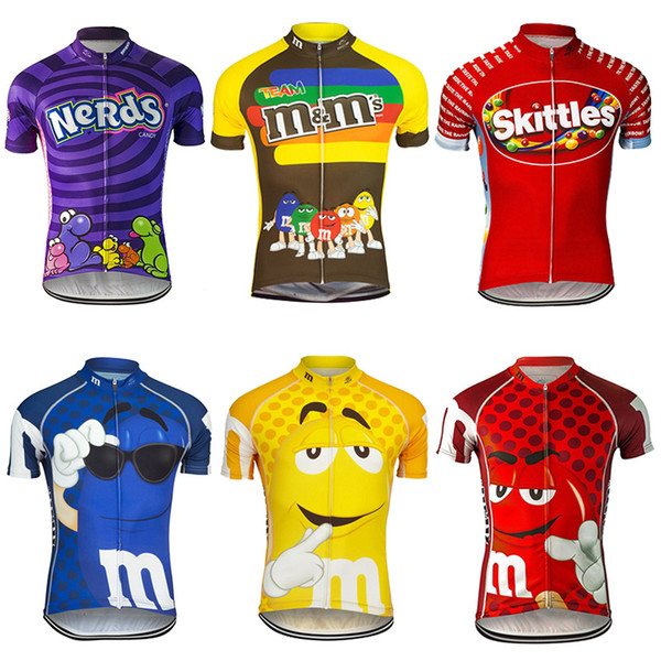 Manche 2017 Cyclisme Maillots Manches Courtes Tops Cyclisme Maillots VTT Ropa Millot Taille XS-4XL Bike Wear Summer Style
