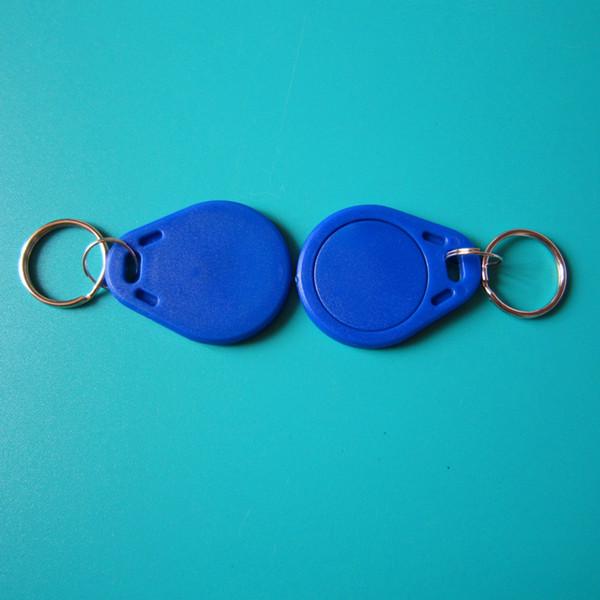 13.56MHZ MIFARE Classic® 1K puce RFID Keychain Tag pour système de contrôle d'accès serrure à clé de l'hôtel -100pcs