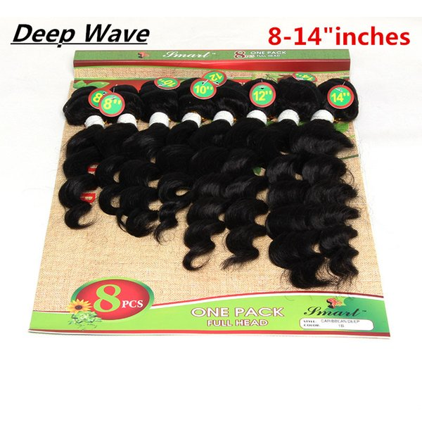 8-14inch loose wave black