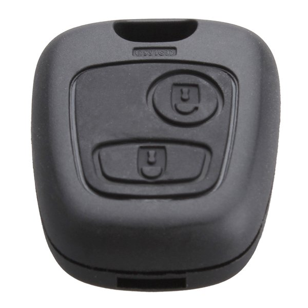 Peugeot 2 pulsanti di ricambio per chiave di ricambio per telecomando con custodia per PEUGEOT 106 107206 207 207 307 406 407 CIA_40Q