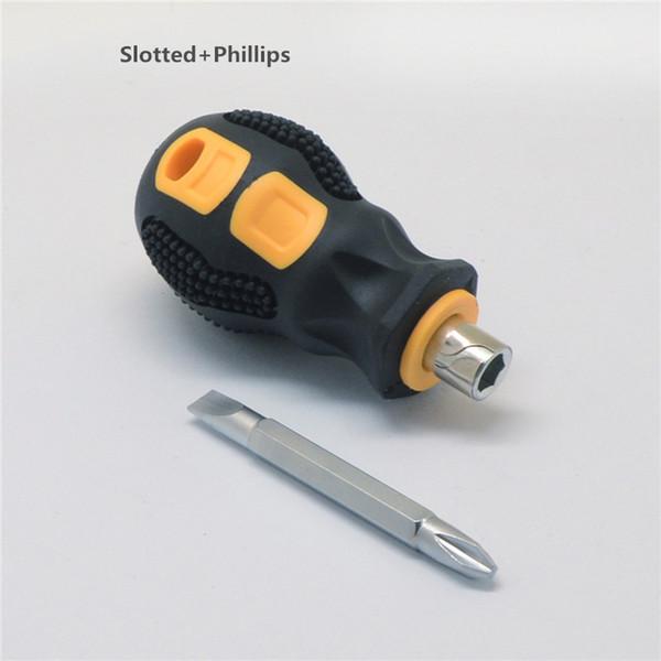 Geschlitzt + Phillips winzige screwdiver