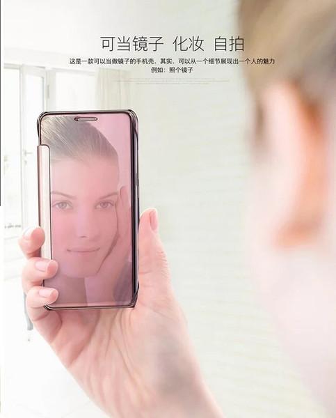 Novo para iphone7 / iphone7 além de shell telefone celular luva protetora holster Espelho de chapeamento de Apple