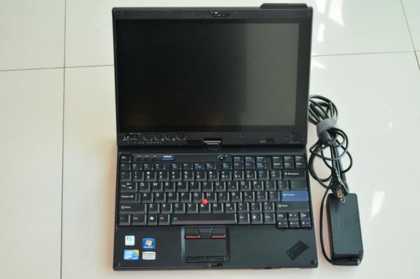 voiture diagnostic ordinateur portable x201t écran tactile i7 4g fonctionne pour mb star et pour b / mw icom sans hdd avec batterie