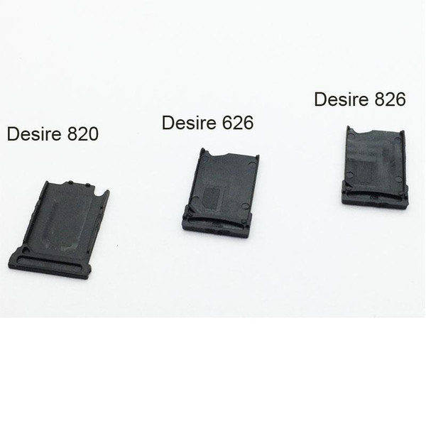 10PCS Original New SIM Card Tray Slot Holder For HTC Desire 820 626 826 Replacement Parts + High Quality