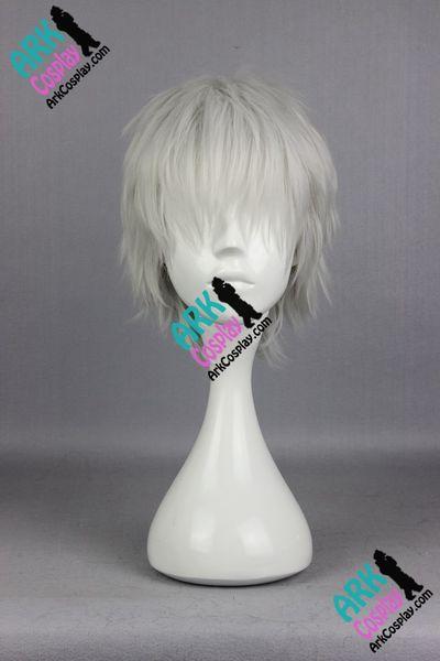 Wholesale-Kaneki Ken Wig - Tokyo Ghoul Wig Kaneki Ken Cosplay Wig White Mens Tokyo Ghoul Cosplay Wigs